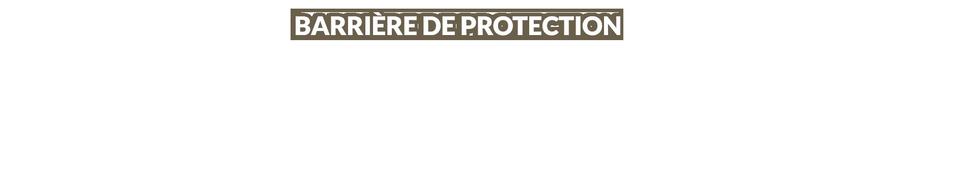 Les barrières de protection