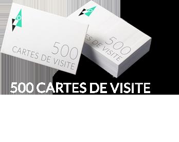 500 Cartes de visite 15 euros