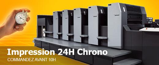 Imprimerie express 48h chrono