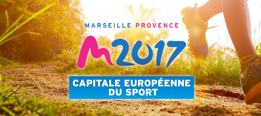 Marseille Provence Capitale Européenne du Sport en 2017