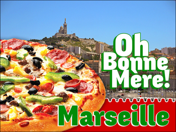La Pizza, une passion marseillaise