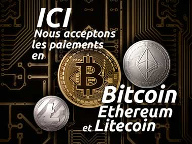 ElectroPrint accepte le paiement en Bitcoin