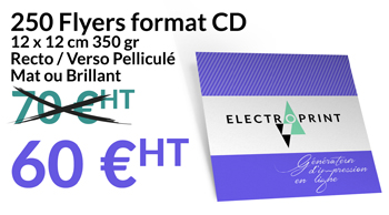 250 Flyers Format CD